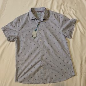 Steel & Jelly Shirts - 🆕Steel & Jelly Catus Print Casual Mens Shirt NWT